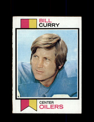 1973 BILL CURRY TOPPS #43 OILERS *R2133