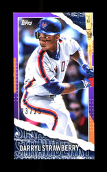 2020 DARRYL STRAWBERRY TOPPS RIP M-28 NEW YORK METS 23/25 *R5275