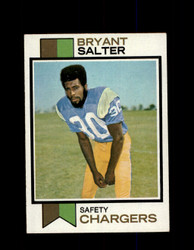 1973 BRYANT SALTER TOPPS #67 CHARGERS *G5927