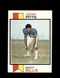 1973 JOHN PITTS TOPPS #178 BILLS *4435