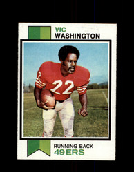 1973 VIC WASHINGTON TOPPS #238 49ERS *G5963