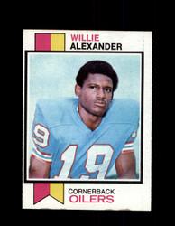 1973 WILLIE ALEXANDER TOPPS #253 OILERS *G5973