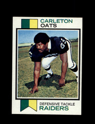 1973 CARLETON OATS TOPPS #127 RAIDERS *G6063