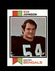1973 BOB JOHNSON TOPPS #290 BENGALS *G5996