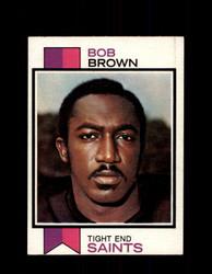 1973 BOB BROWN TOPPS #407 SAINTS *6100