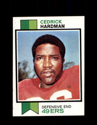 1973 CEDRICK HARDMAN TOPPS #412 49ERS *9001