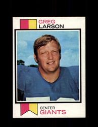 1973 GREG LARSON TOPPS #418 GIANTS *9005