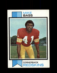 1973 MIKE BASS TOPPS #419 REDSKINS *9006