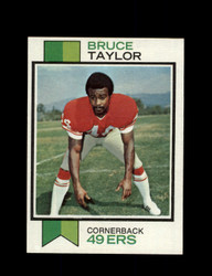 1973 BRUCE TAYLOR TOPPS #346 49ERS *G6122