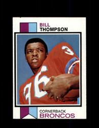 1973 BILL THOMPSON TOPPS #438 BRONCOS *9015