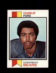 1973 CHARLIE FORD TOPPS #451 BEARS *9024