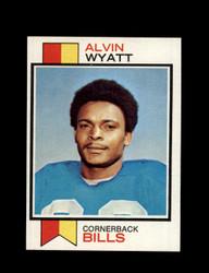 1973 ALVIN WYATT TOPPS #362 BILLS *G6131