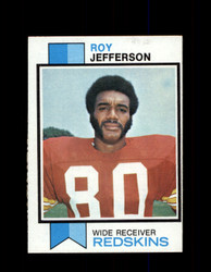 1973 ROY JEFFERSON TOPPS #472 REDSKINS *9038