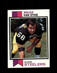 1973 BRUCE VAN DYKE TOPPS #505 STEELERS *9059