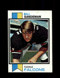 1973 BILL SANDEMAN TOPPS #518 FALCONS *9066