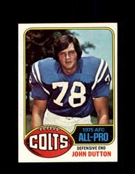 1976 JOHN DUTTON TOPPS #130 COLTS *R5796