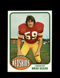 1976 BRAD DUSEK TOPPS #31 REDSKINS *9085