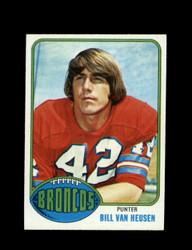 1976 BILL VAN HEUSEN TOPPS #37 BRONCOS *9090