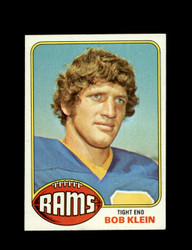 1976 BOB KLEIN TOPPS #42 RAMS *9093