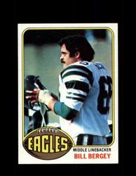 1976 BILL BERGEY TOPPS #165 EAGLES *9140