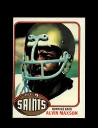 1976 ALVIN MAXSON TOPPS #83 SAINTS *9123