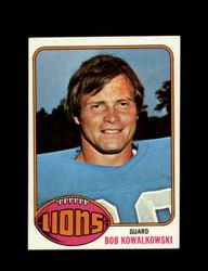 1976 BOB KOWALKOWSKI TOPPS #197 LIONS *9125