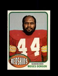 1976 MOSES DENSON TOPPS #212 REDSKINS *9169