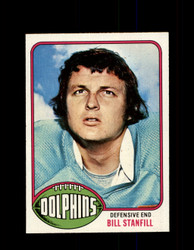 1976 BILL STANFILL TOPPS #233 DOLPHINS *9302