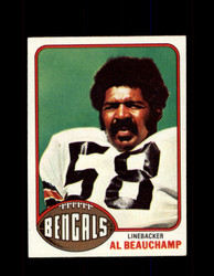 1976 AL BEAUCHAMP TOPPS #269 BENGALS *9325