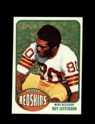1976 ROY JEFFERSON TOPPS #289 REDSKINS *9178