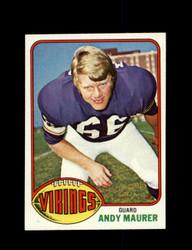 1976 ANDY MAURER TOPPS #309 VIKINGS *9191