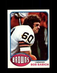 1976 BOB BABICH TOPPS #374 BROWNS *9201