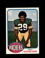 1976 ALVIN MATTHEWS TOPPS #379 PACKERS *9205