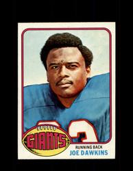 1976 JOE DAWKINS TOPPS #386 GIANTS *9211