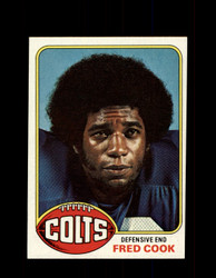1976 FRED COOK TOPPS #503 COLTS *9353