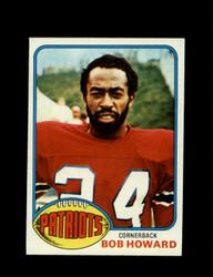 1976 BOB HOWARD TOPPS #402 PATRIOTS *9239