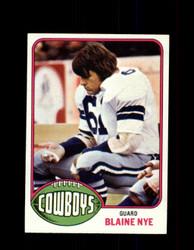 1976 BLAINE NYE TOPPS #527 COWBOYS *9366
