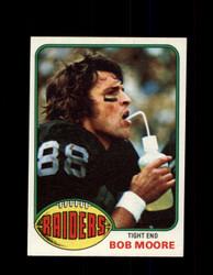 1976 BOB MOORE TOPPS #528 RAIDERS *9367
