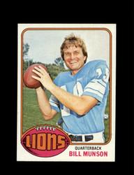 1976 BILL MUNSON TOPPS #404 LIONS *9240