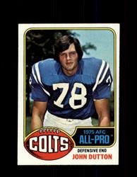 1976 JOHN DUTTON TOPPS #130 COLTS *9378