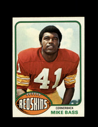 1976 MIKE BASS TOPPS #409 REDSKINS *9245