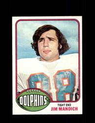 1976 JIM MANDICH TOPPS #154 DOLPHINS *9395