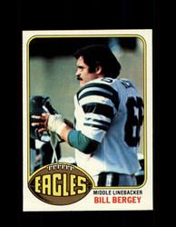 1976 BILL BERGEY TOPPS #165 EAGLES *9397