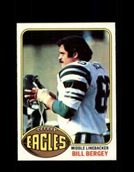 1976 BILL BERGEY TOPPS #165 EAGLES *9398