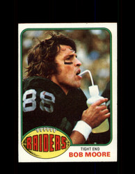 1976 BOB MOORE TOPPS #528 RAIDERS *9274