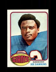 1976 JOE DAWKINS TOPPS #386 GIANTS *9288