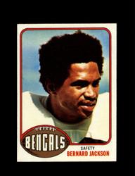 1976 BERNARD JACKSON TOPPS #449 BENGALS *9270