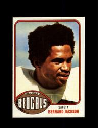 1976 BERNARD JACKSON TOPPS #449 BENGALS *9405