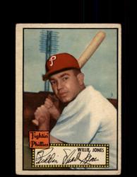 1952 WILLIE JONES TOPPS #47 PHILLIES VG/EX *9414