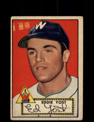 1952 EDDIE YOST TOPPS #123 SENATORS POOR *9430